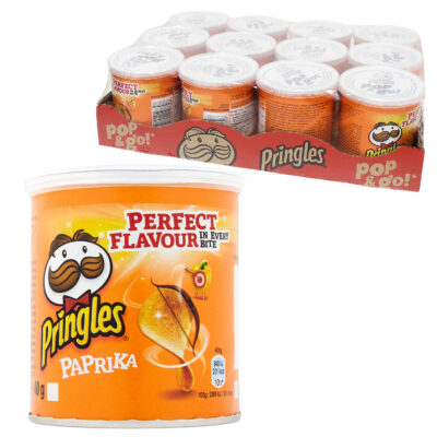 24 Packs 40g Paprika Pringles