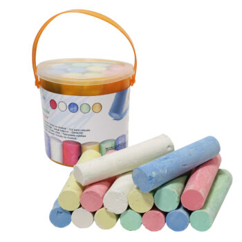 30PC Multi Coloured Pavement Chalk