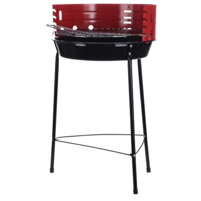 Red Portable BBQ