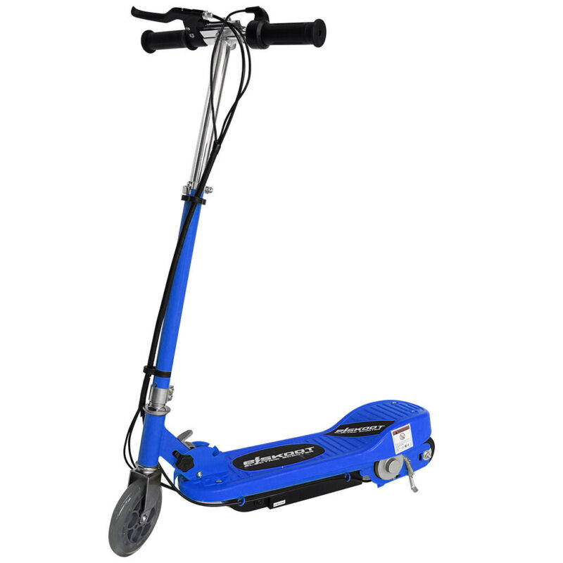 Kids Blue Electric Scooter Without Seat