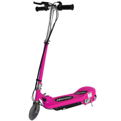 Kids Pink Electric Scooter Without Seat