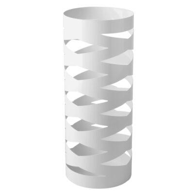 White Metal Umbrella Holder