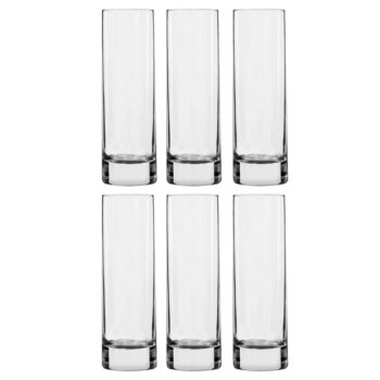 Set of 6 Luminarc High Ball Glasses