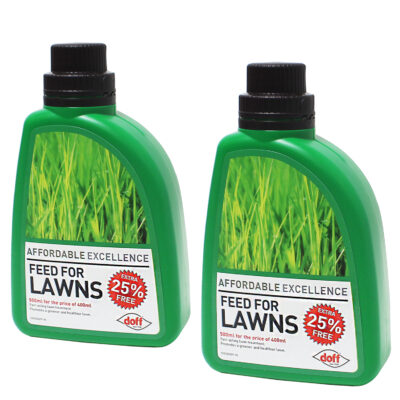 Set of 2 Doff Feed For Lawns