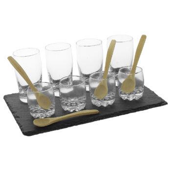 Glass Tapas Set