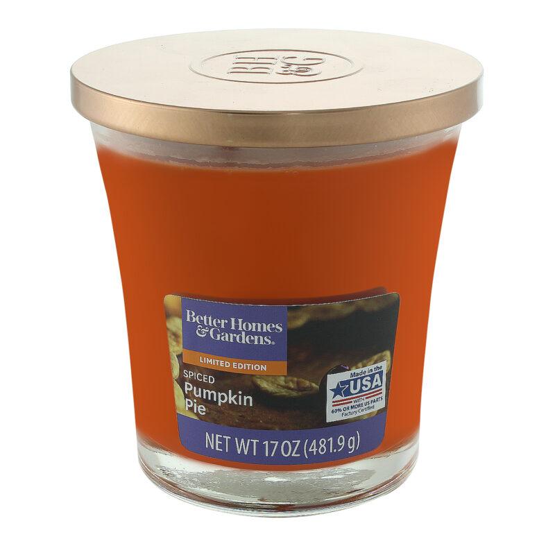 Spiced Pumpkin Pie Jar Candle