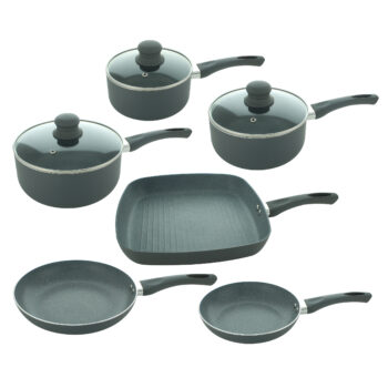 Grey Marble Pan